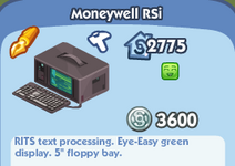 Moneywell RSi