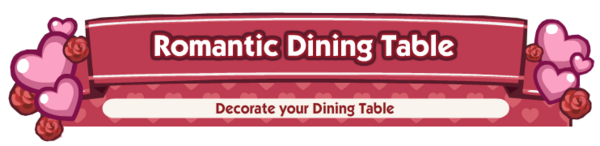 Romantic Dining Table Skill Banner