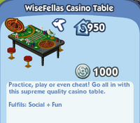 WiseFellas Casino Table