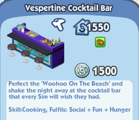 Vespertine Cocktail Bar