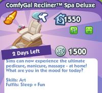 ComfyGal Recliner™ Spa Deluxe