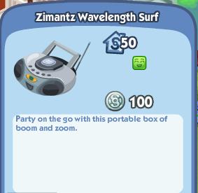 Zimantz Wavelength Surf