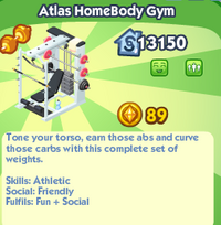 Atlas Homebody Gym