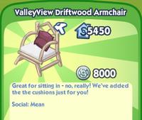 ValleyView Driftwood Armchair