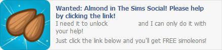 Almond Wall Post