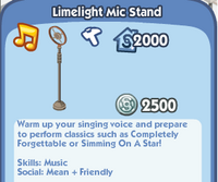 Limelight Mic Stand