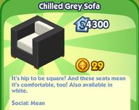 Chilled Grey Sofa
