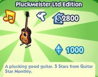 PluckMeister Ltd Edition
