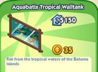 Aquabatix Tropical Walltank