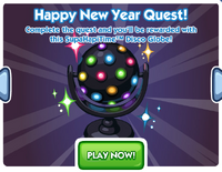 Happy New Year Quest Ad