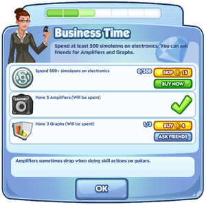 Business Time quest