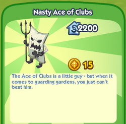 Nasty Ace of Clubs