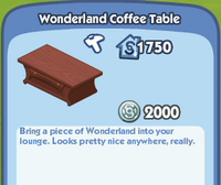 WonderlandCoffeeTable
