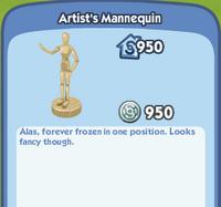 Artists mannequin