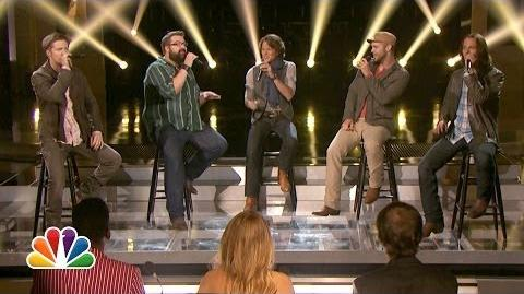 "Home Free Sings ""Cruise"" - The Sing-Off"