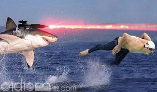 File:Phelps laser shark.jpg