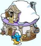 Snowy Poet's Hut