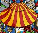 Clown Smurf Hut