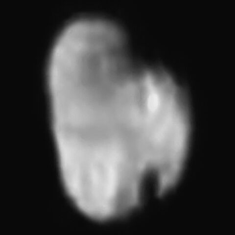 File:Hydra imaged by LORRI from 231 000 kilometres.jpg