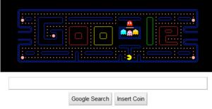 Pac-man Gogle Doodle