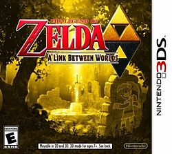 The Legend of Zelda A Link Between Worlds NA cover