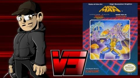 Johnny vs. Mega Man