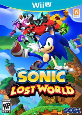 Sonic Lost World Wii U Box art