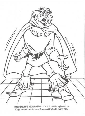 File:Swan Princess official coloring page 9.png