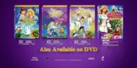 The five movies the Swan Princess.