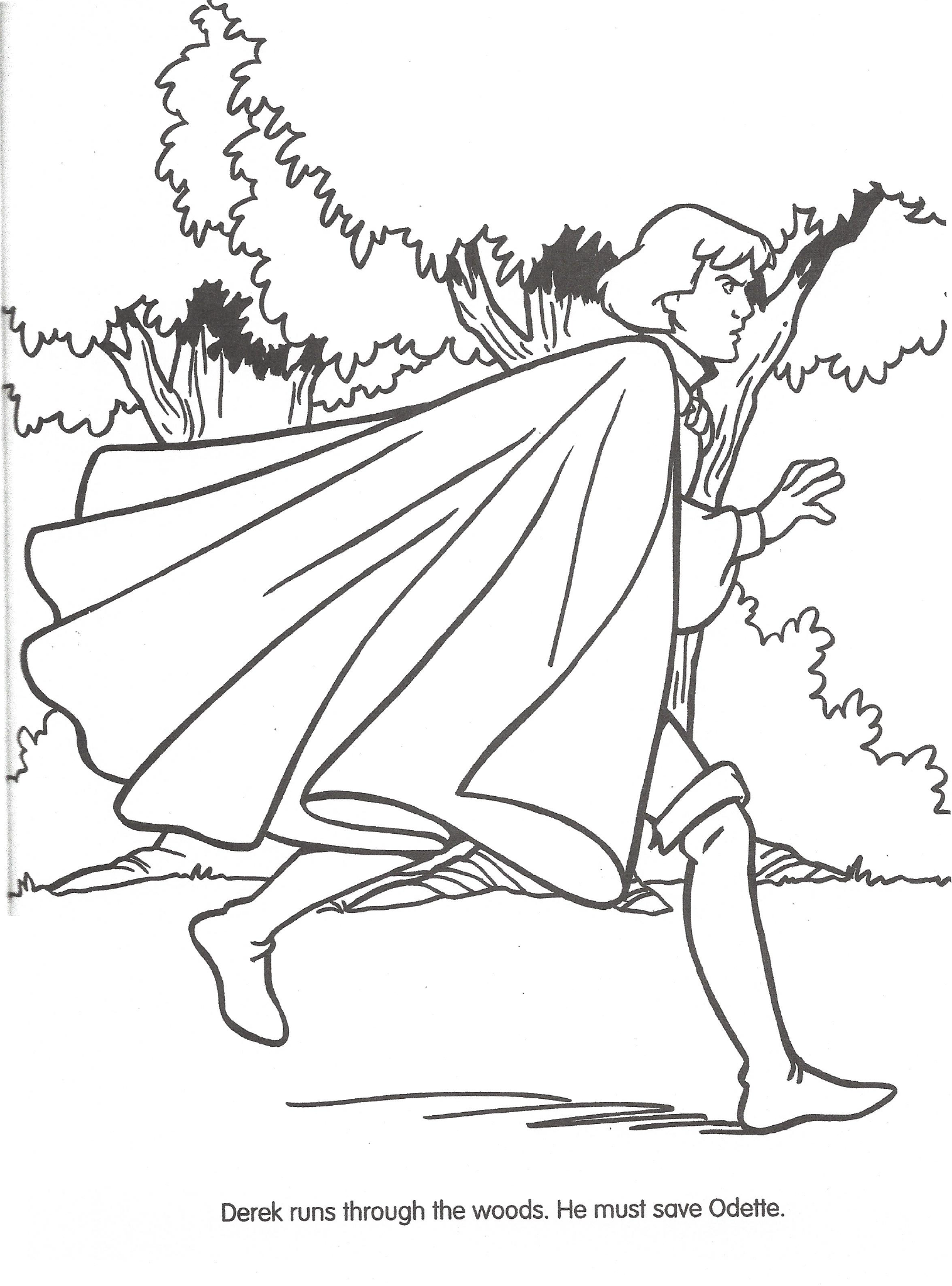 Swan princess coloring pages - File Swan Princess Official Coloring Page 44 Png