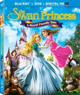 The Swan Princess a royal family tale dvd cover.