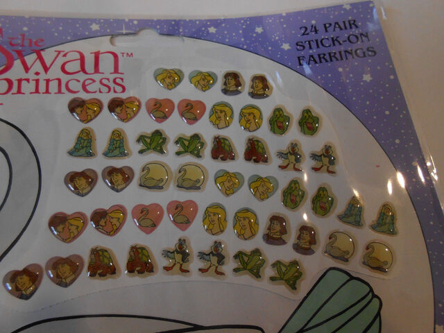 File:SWAN PRINCESS 24 Pair of Stick-On Earrings.jpg