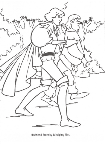 File:Swan Princess official coloring page 25.png