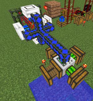 Cooling system combustion engine