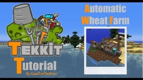 Tekkit Tutorial Automatic Wheat Farm