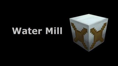 Water Mill - Industrial-Craft In Minutes