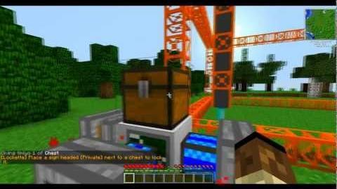 Minecraft FTB Buildcraft quarrying tutorial