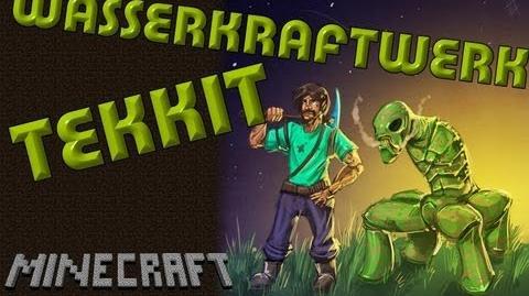 Minecraft Tekkit German HD - Wasserkraftwerk