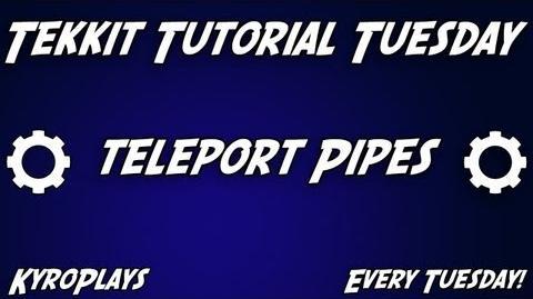 Teleport Pipes Tutorial Tekkit