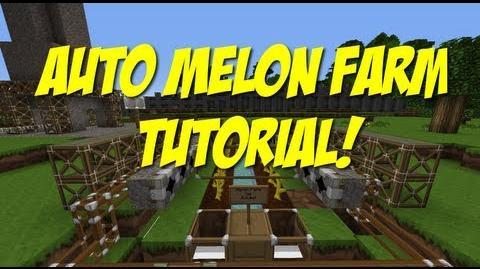 Minecraft - Automatic Melon Farm Tutorial!