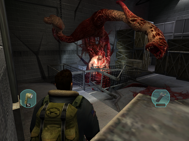 File:Blake fights the Furnace Rupture (1) - The Thing (2002).png