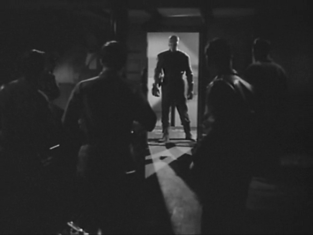 File:The Thing attacks the living quarters- The Thing (1951).png