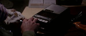 Tape Recorder (The Thing -1982)