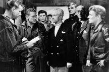 Hendry confronts Carrington - The Thing (1951)
