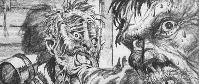 File:Ploog, Blair absorbs Garry concept art - The Thing (1982).jpg