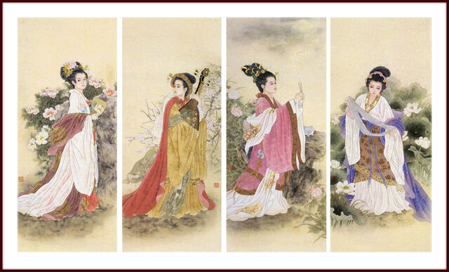 File:Four Great Chinese Beauties (2).jpg