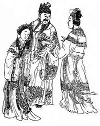 Consort Dong, Emperor Xian, Fu Shou - Qing SGYY