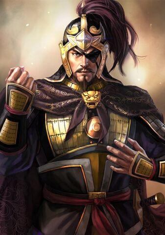 File:Xiahou Dun (domestic eyepatch high rank young) - RTKXIII.jpg