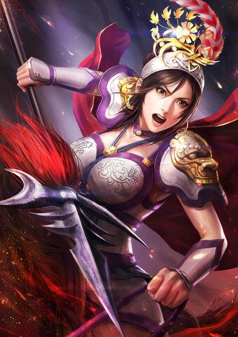 File:Lü Lingqi (battle) - RTKXIII PUK.jpg