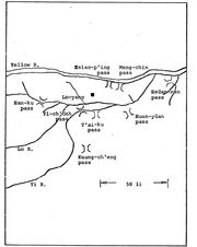 Fortified Passes to Luoyang in 184